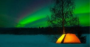 How to go winter camping