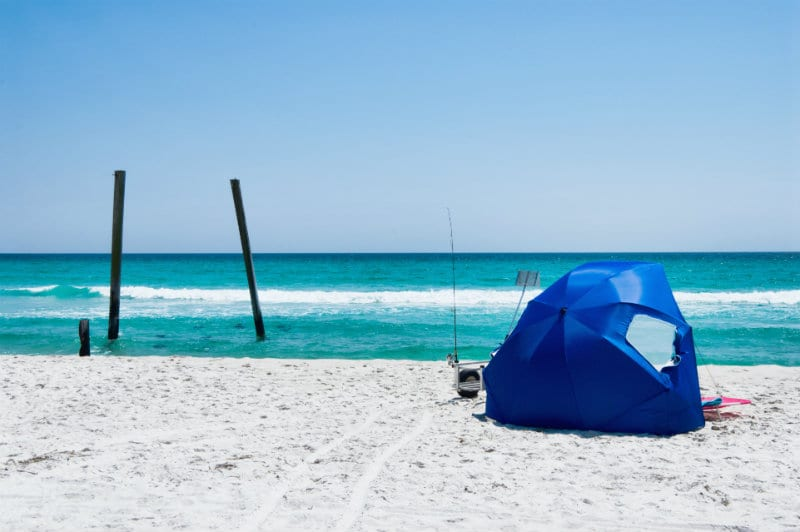 best pop up tents for the beach