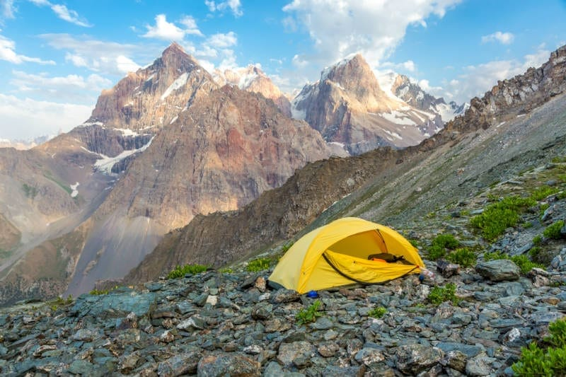 best 1 person tents