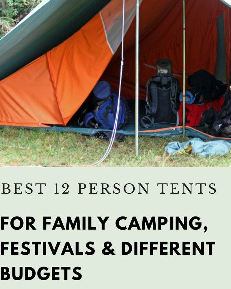 the best 12 person tents