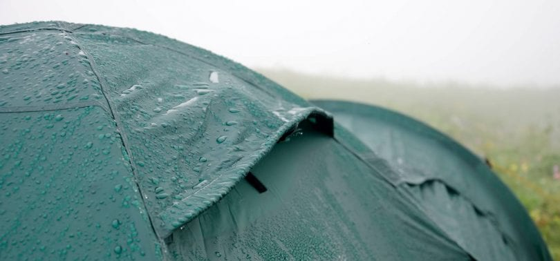 tent waterproofing