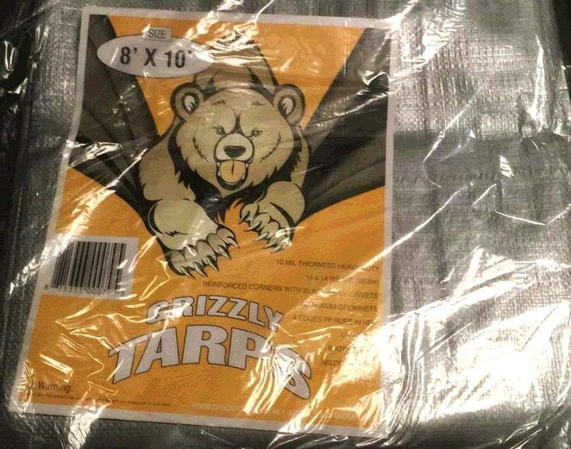 Grizzly tarps review