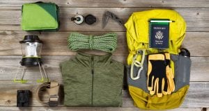 used camping gear