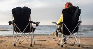 can you take camping chairs to the beach